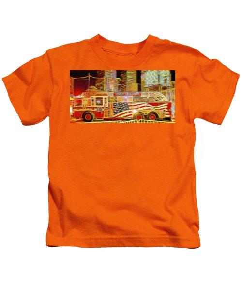 Ten Truck Kids T-Shirt