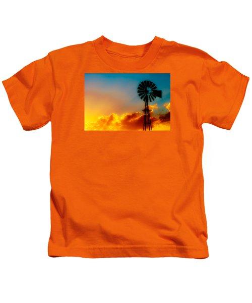 Texas Sunrise Kids T-Shirt