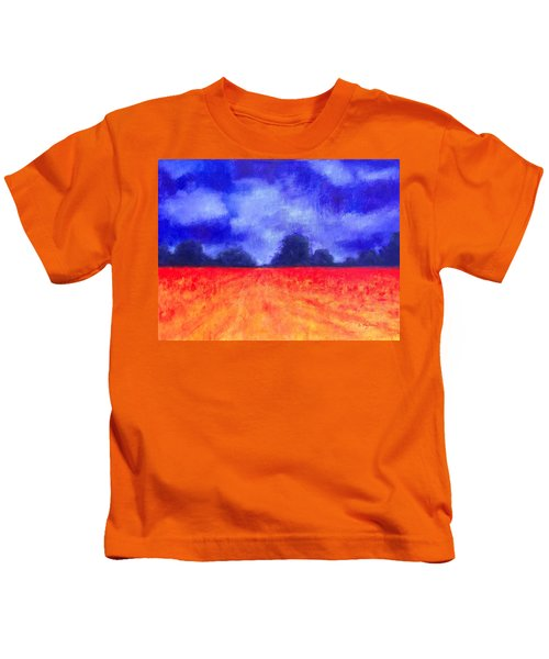 The Autumn Arrives Kids T-Shirt