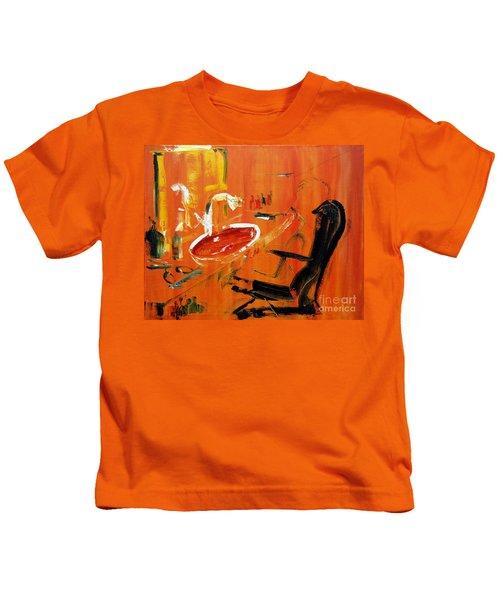 The Barbers Shop - 3 Kids T-Shirt