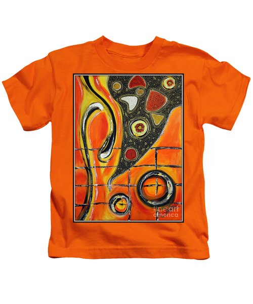 The Fires Of Charged Emotions Kids T-Shirt