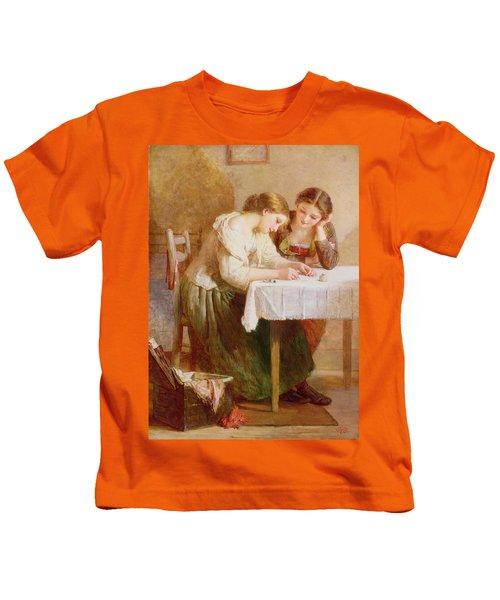 The Love Letter, 1871 Kids T-Shirt