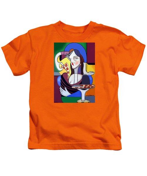 The Mona Pizza Kids T-Shirt