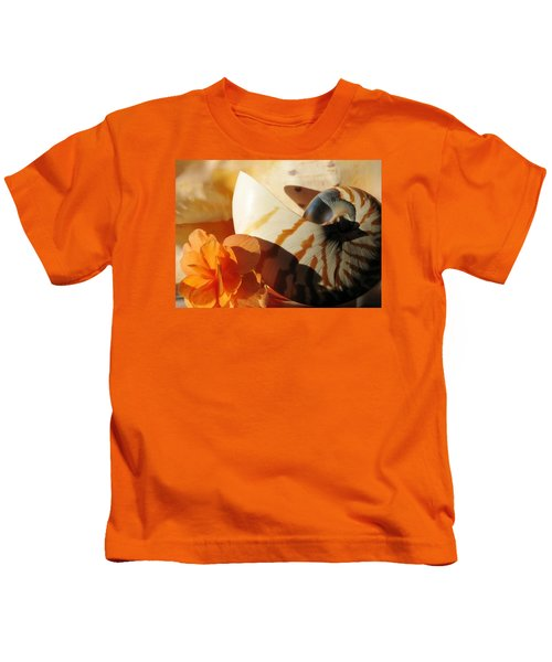 The Secret Of The Sea Kids T-Shirt