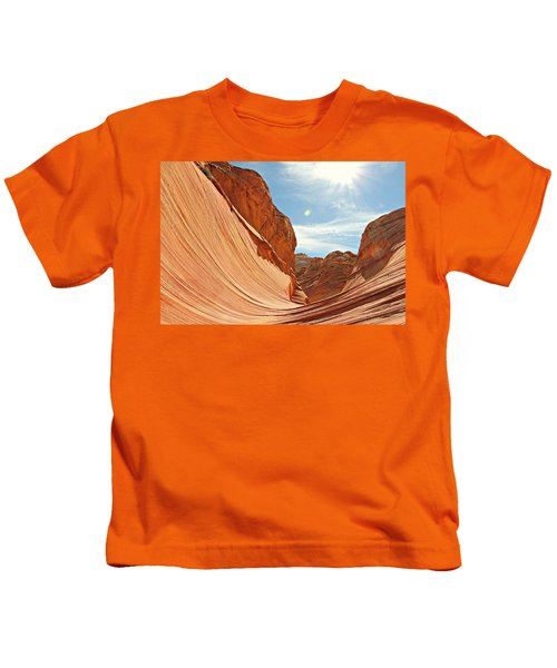 The Wave Rock #1 Kids T-Shirt