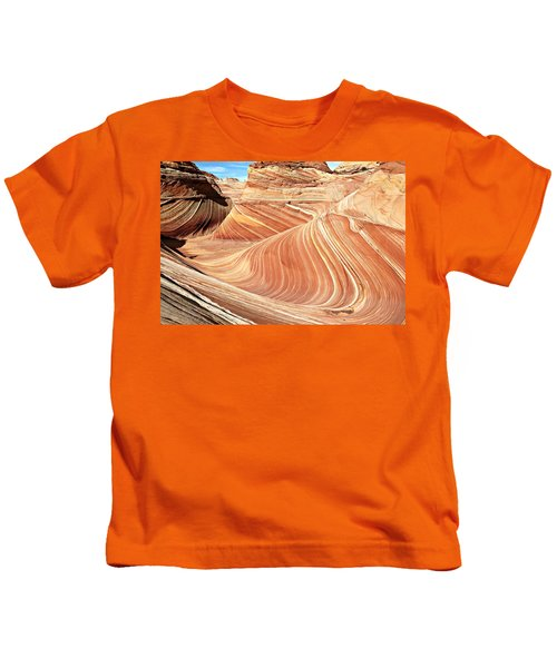 The Wave Rock #2 Kids T-Shirt