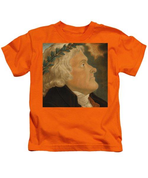 Thomas Jefferson Kids T-Shirt