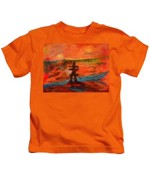 Top Of The World Kids T-Shirt