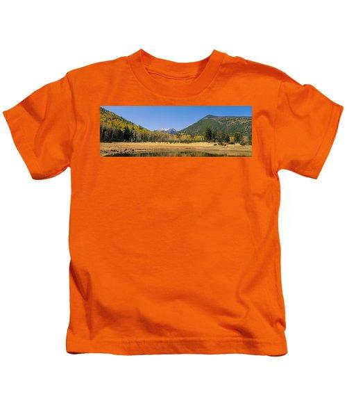 Trees On The Mountainside, Kachina Kids T-Shirt