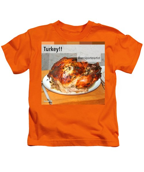 Turkey!! Cooked And Photographed By Kids T-Shirt