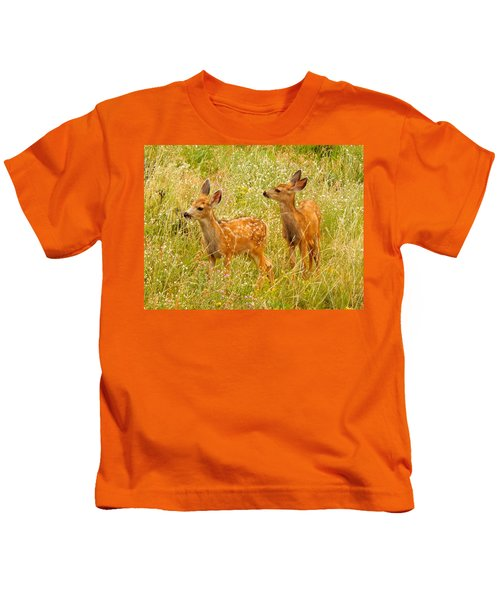 Twin Fawns Kids T-Shirt
