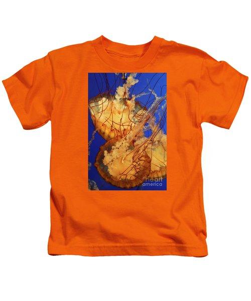 Underwater Friends - Jelly Fish By Diana Sainz Kids T-Shirt
