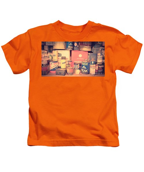 Vintage Gas Service Station Products Kids T-Shirt