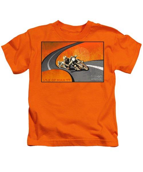 Vintage Motor Racing  Kids T-Shirt