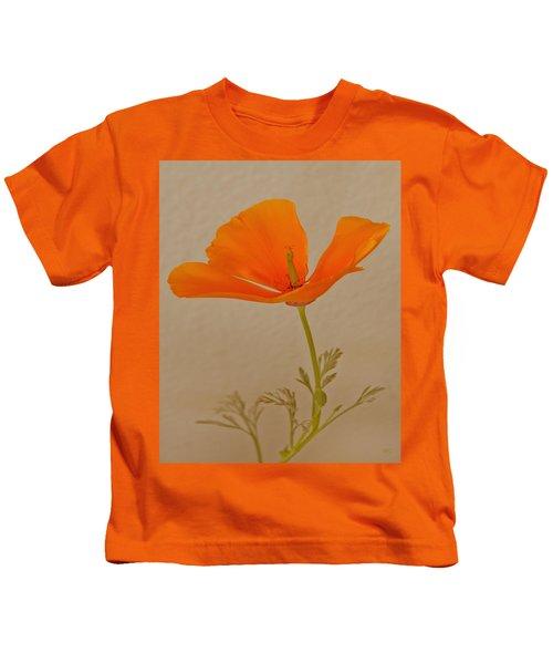 Wild California Poppy No 1 Kids T-Shirt