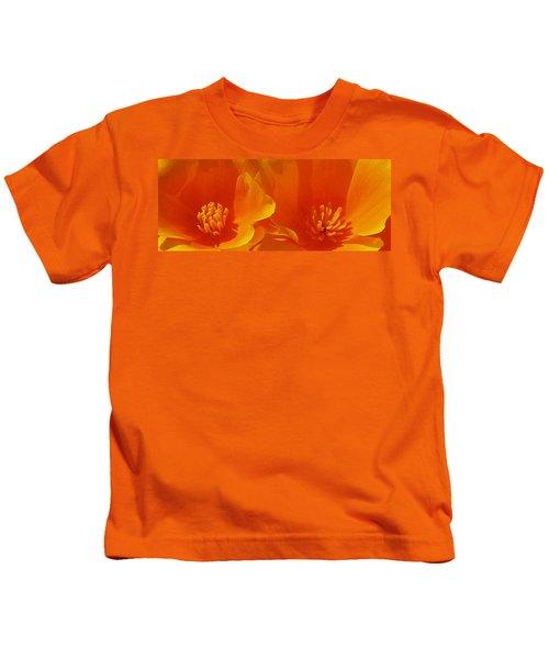 Wild Poppies Kids T-Shirt