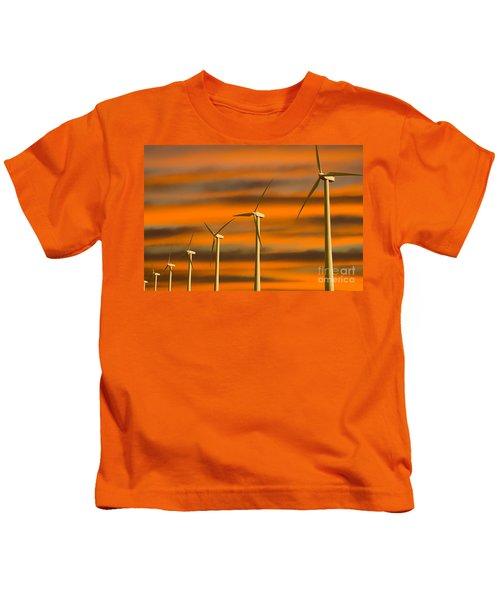 Windmill Farm Kids T-Shirt
