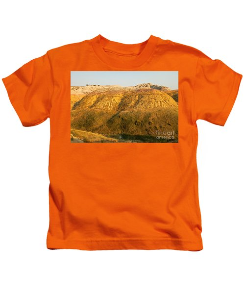 Yellow Mounds Overlook Badlands National Park Kids T-Shirt