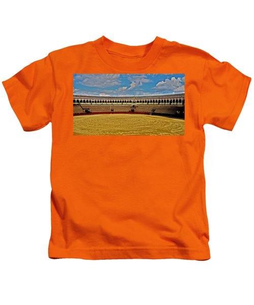 Arena De Toros - Sevilla Kids T-Shirt