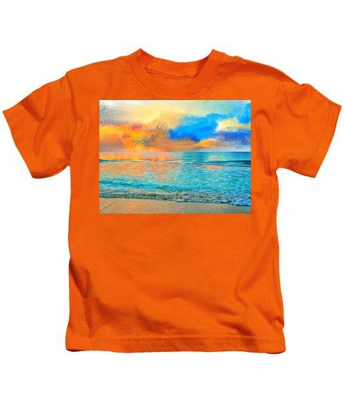 Bali Sunset Kids T-Shirt