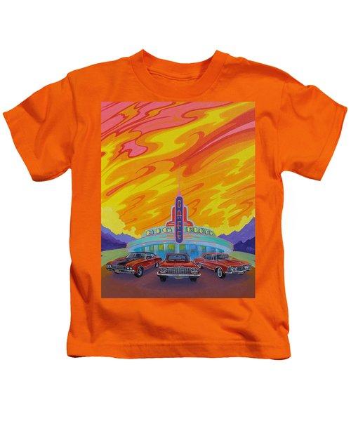Big Block Cafe Kids T-Shirt