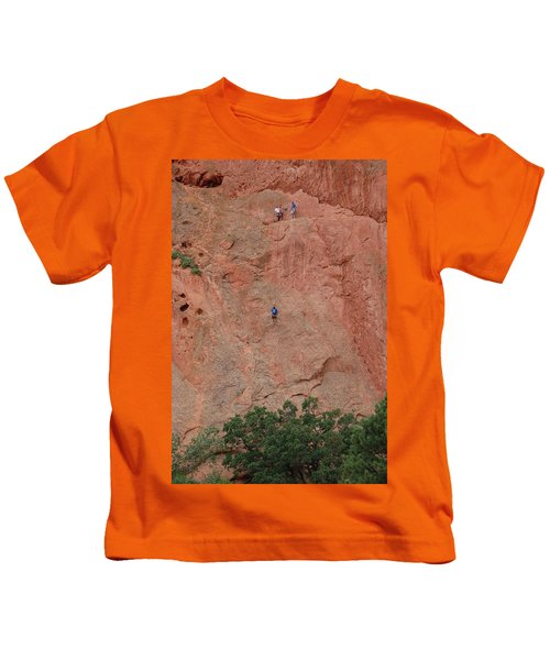 Coming Down The Mountain Kids T-Shirt