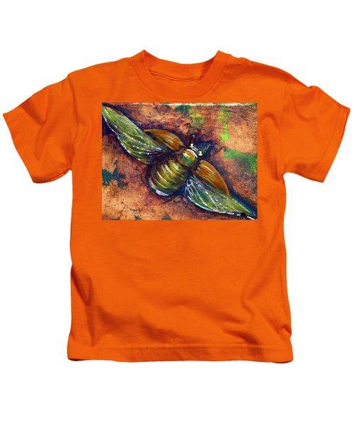 Copper Beetle Kids T-Shirt