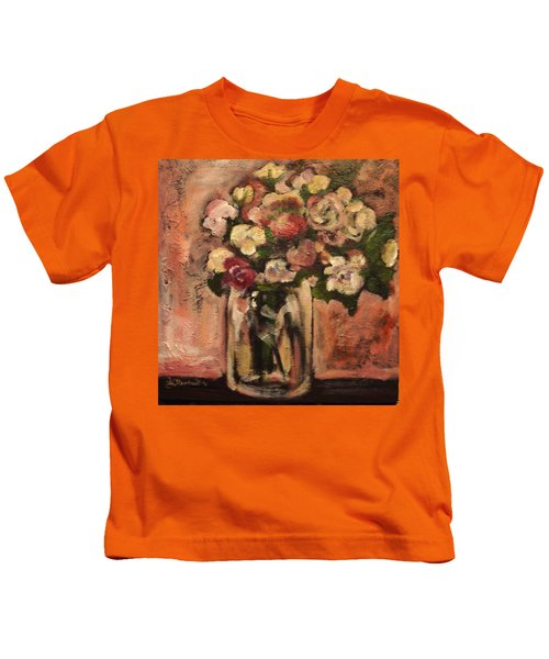 Flowers For Mom Kids T-Shirt