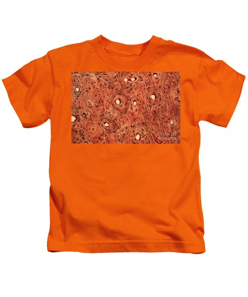Human Bone Tissue Kids T-Shirt
