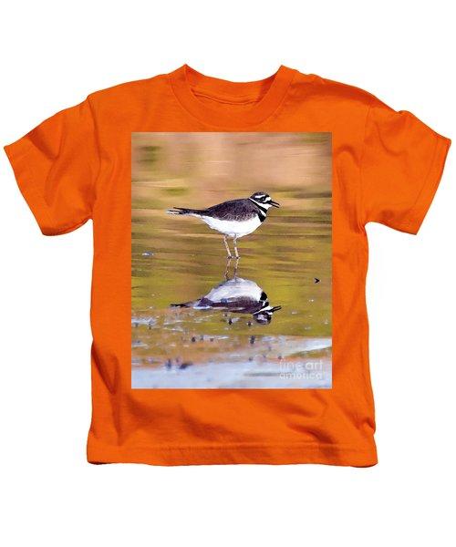 Killdeer Reflection Kids T-Shirt