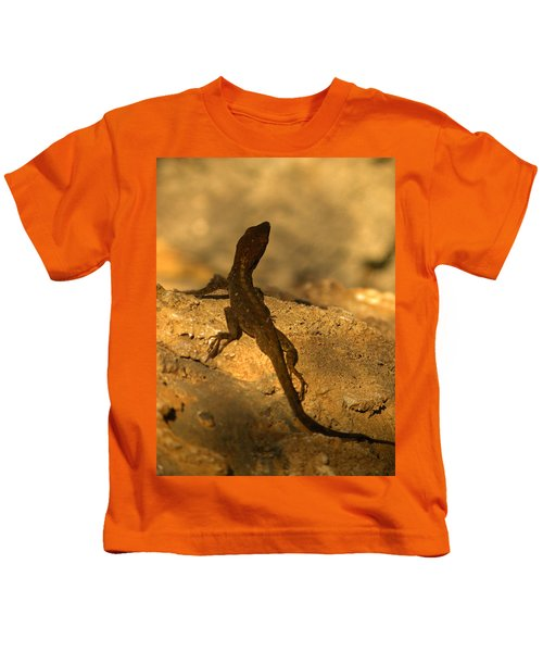 Leapin' Lizards Kids T-Shirt by Trish Tritz