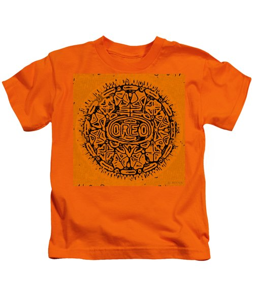 Orange Oreo Kids T-Shirt