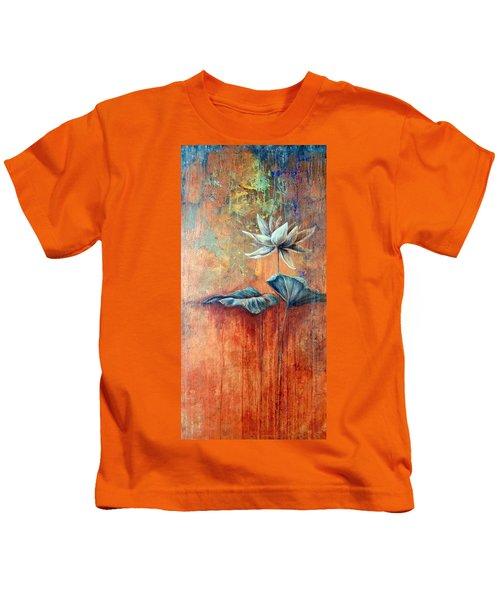 Patina Lotus Kids T-Shirt