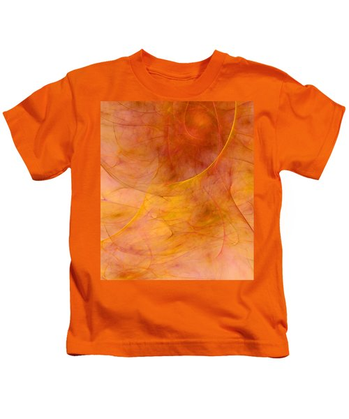 Poetic Emotions Abstract Expressionism Kids T-Shirt