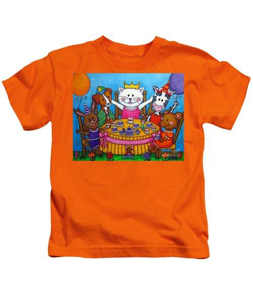 The Little Tea Party Kids T-Shirt