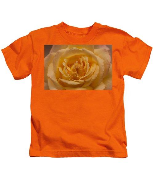 Yellow Rose Kids T-Shirt
