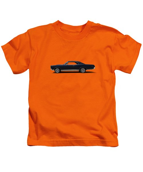 67 Gto Kids T-Shirt by Douglas Pittman