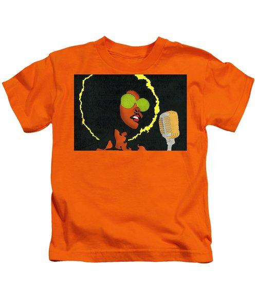 Angela Sings Kids T-Shirt