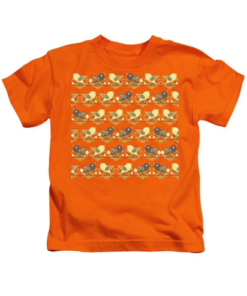 Birds Pattern Kids T-Shirt