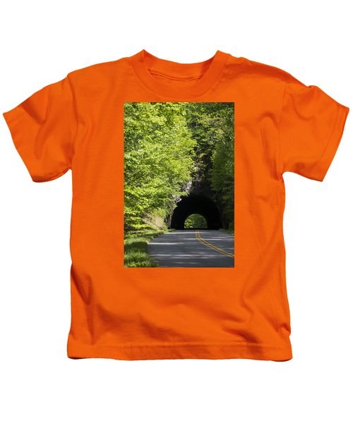 Blue Ridge Parkway Kids T-Shirt