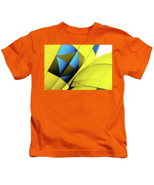 Colorful Abstract Hot Air Balloons Kids T-Shirt