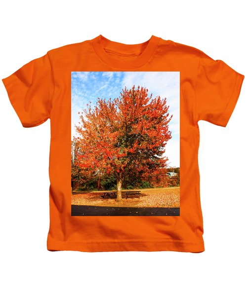Fall Time Kids T-Shirt