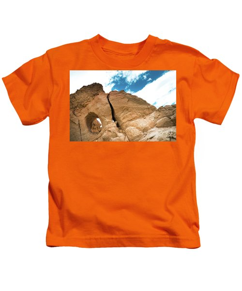 Garuda Valley Tibet Yantra.lv Kids T-Shirt