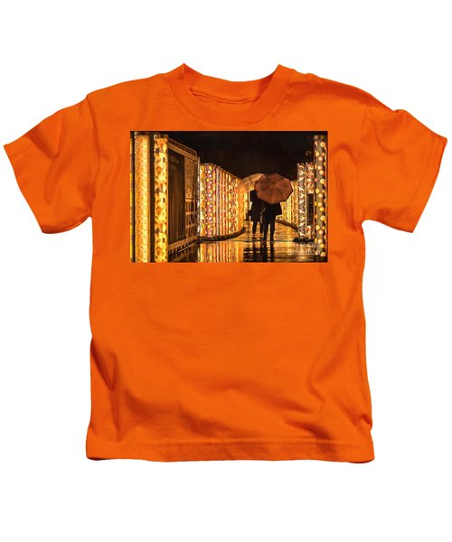 In The Kimono Forest Kids T-Shirt