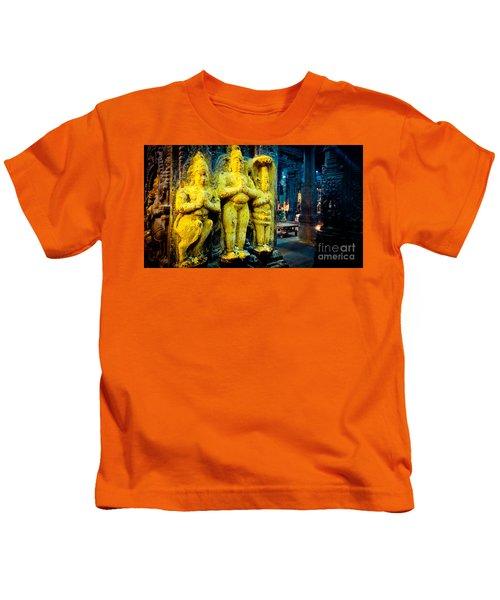 Meenakshi Temple Madurai India Kids T-Shirt