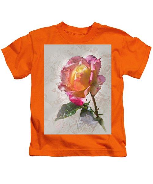 Rosa, 'glowing Peace' Kids T-Shirt