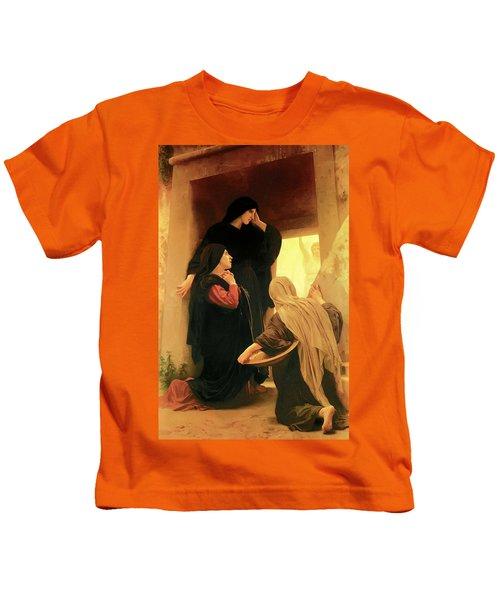 Three Marys At The Tomb Kids T-Shirt