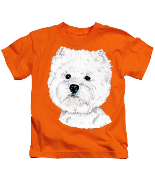 West Highland White Terrier, Westie Kids T-Shirt