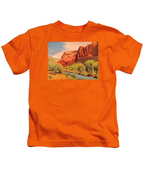 Zion Canyon Kids T-Shirt