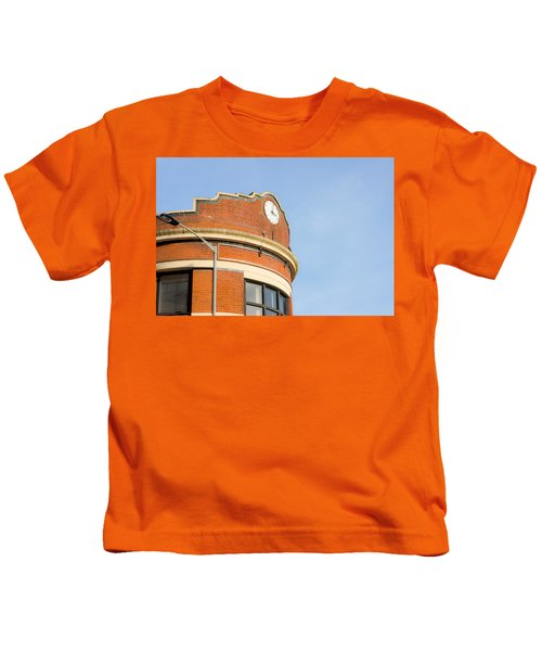 Red Brick Building Kids T-Shirt